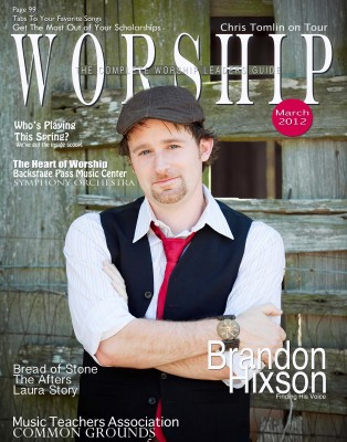 Brandon Hixson Worship Leadership Magazine